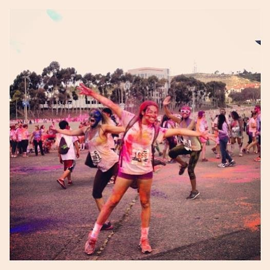 Rachel B. Hoffert enjoyed Run or Dye 5k at Qualcomm Stadium merely days before the Boston Marathon. Even then, she noticed a few things that could change.