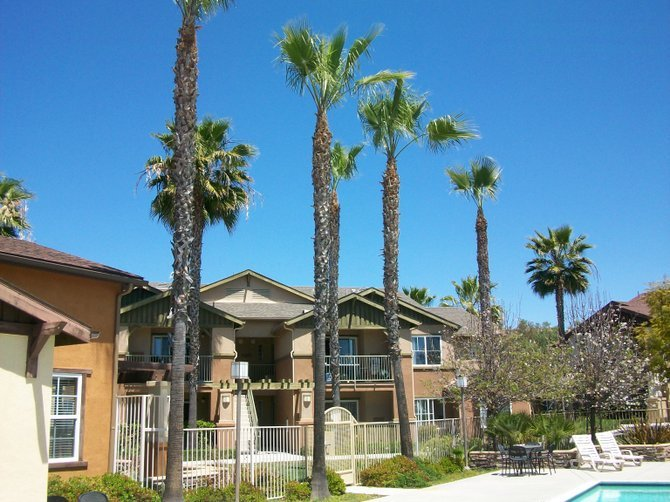 Beautiful Dove Canyon apartments in Rancho Bernardo.