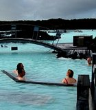 Bathers at the Blue Lagoon