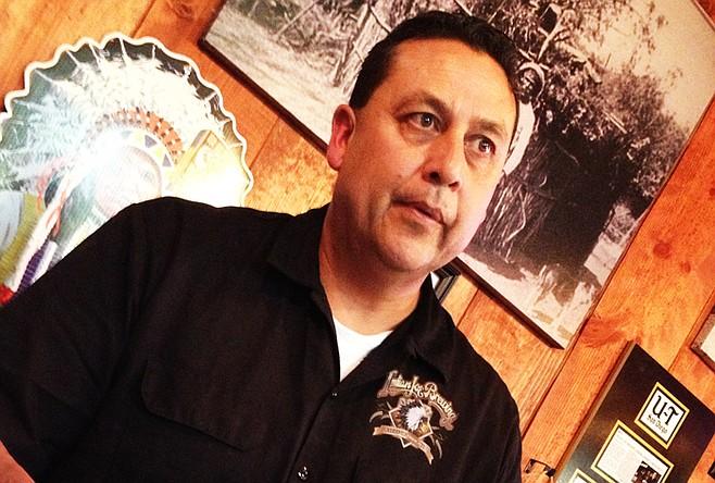 Indian Joe Brewing owner Max Moran