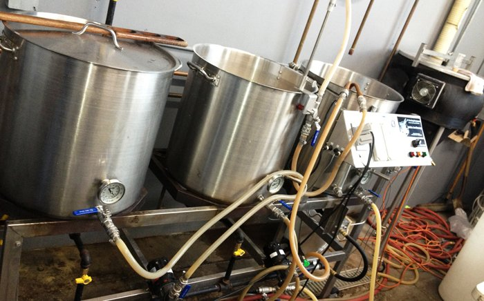 This system gets a serious workout at six brews per day, six days a week