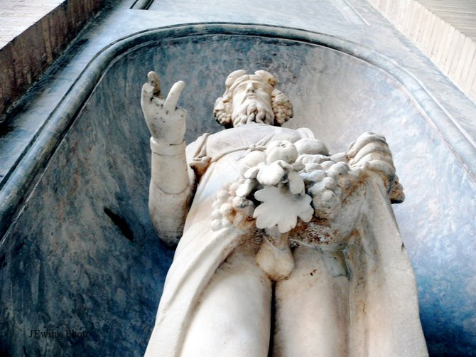 Perverts have a long history.  This one is featured in the Vatican Museum, Rome, Italy