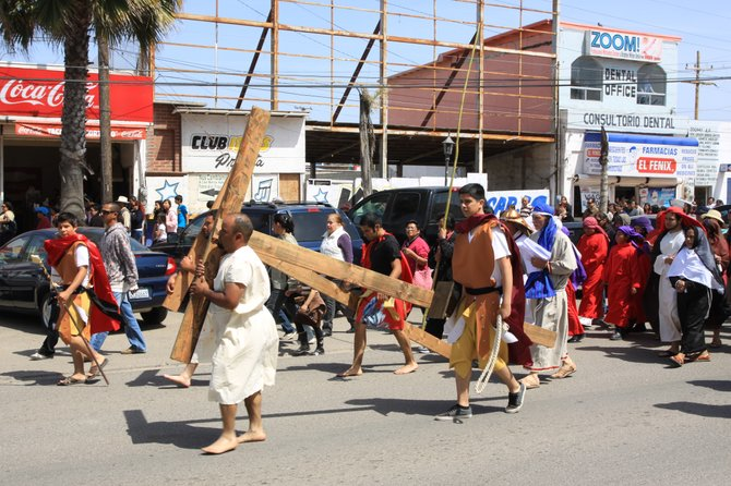 Easter parade in Rosarito , Mexico