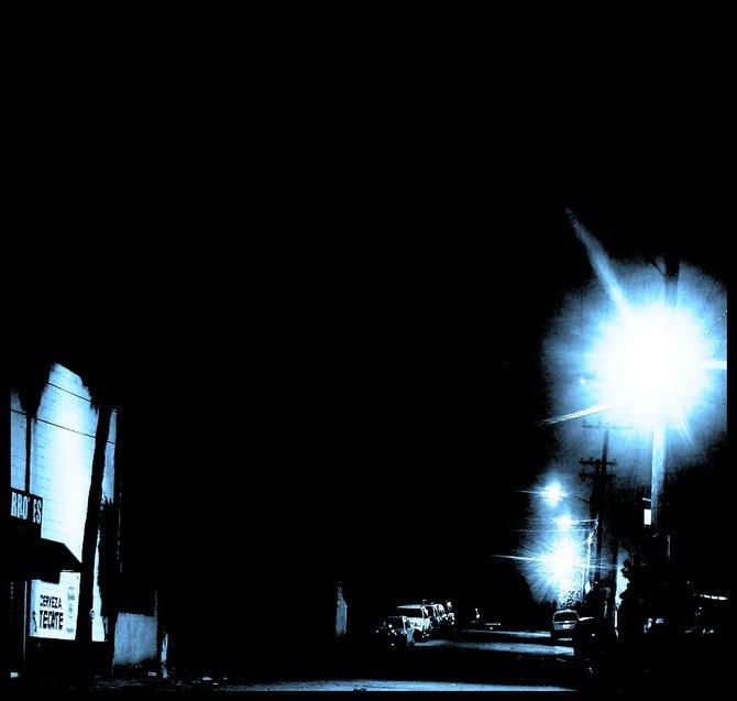 Neighborhood Photos TIJUANA,BAJA CALIFORNIA Late night in Otay section of Tijuana/ De noche en Otay,Tijuana