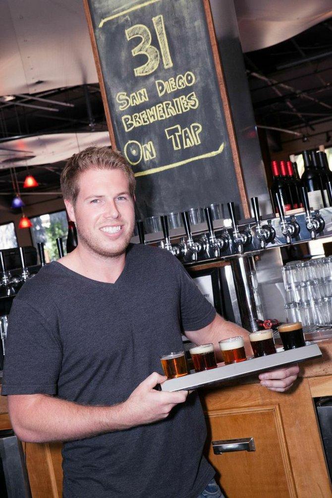 San Diego Brew Project cofounder Beau Schmitt