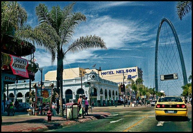 Neighborhood Photos TIJUANA,BAJA CALIFORNIA Tijuana's Monumental Arch at end of Revolucion Avenue/Arco Monumental al final de Avenida Revolucion.