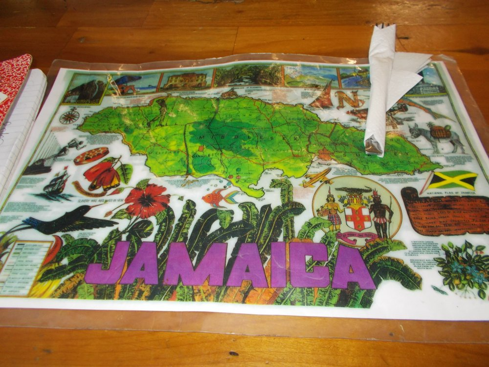Jamaica table mat