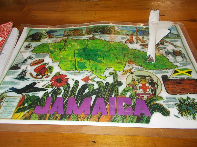Jamaica table mat