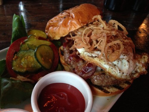 Wild Style burger