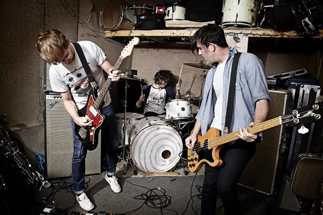 Canada band Metz deliver art punk to Casbah on Sunday.