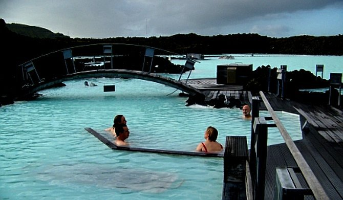 Clean energy: it's a hit with spa-goers.