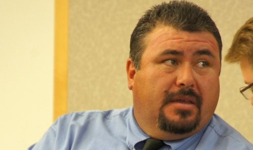 Jose Ledesma declared guilty of four misdemeanors.  Photo Weatherston.