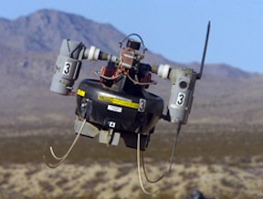 Honeywell's T-Hawk drone