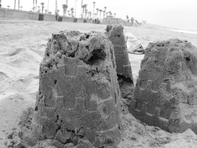 Sand Castles in Mission Beach