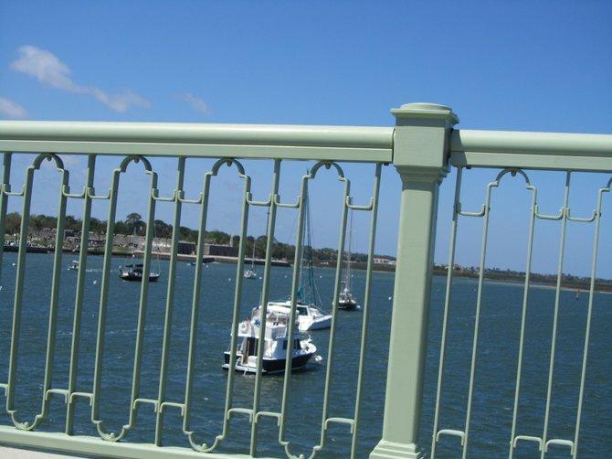 Crossing the Bridge to Saint Augustine, FL