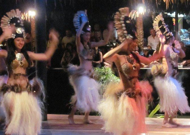 Te Vara Nui cultural show.
