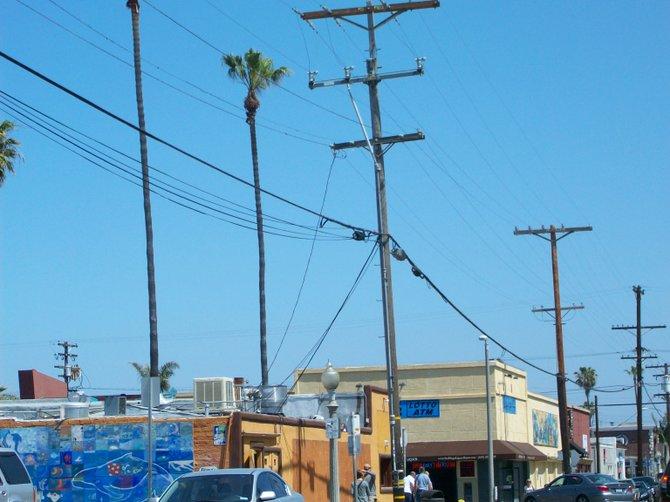 Ocean Beach along Bacon Street near Newport Ave.