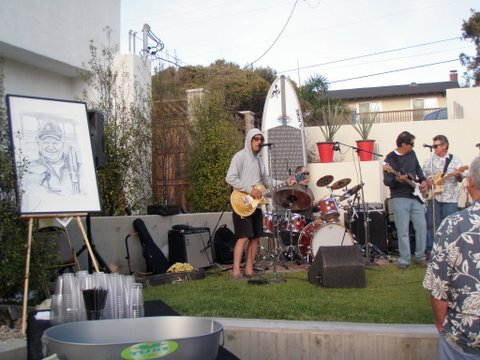 The Rawtones, joined by Mark Jackson, took off into the night with everybody smiling and dancing to the groovy sounds.