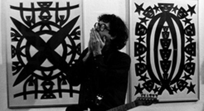 Craftlab Gallery finds a friend in artist/guitarist Jad Fair.