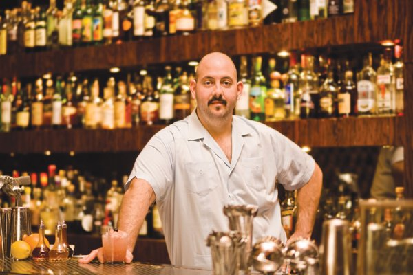 Noble Experiment's cofounder and head bartender Anthony Schmidt
