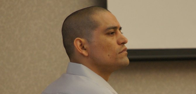 Jose Raul Najera, 34, heard his sentence today.  Photo Weatherston.