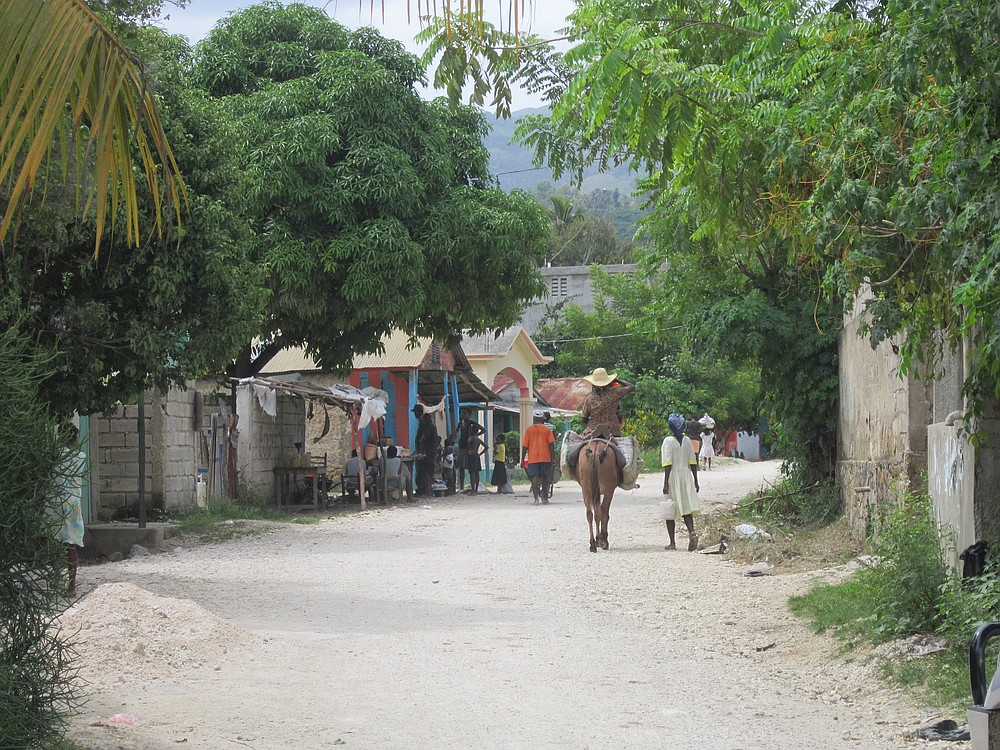 Scene from rural Haiti.