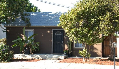 Rented home in Oceanside where body of transgender prostitute was found.
