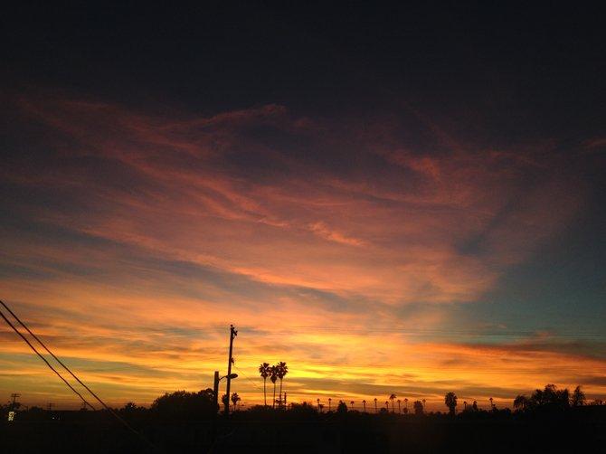 Chula Vista sunsets.