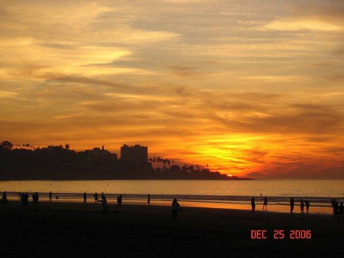 Classic La Jolla Shores Sunset. Photographer: Robert Chartier