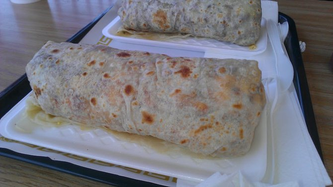 Not much to see, looking at burritos unopened, but here they are!