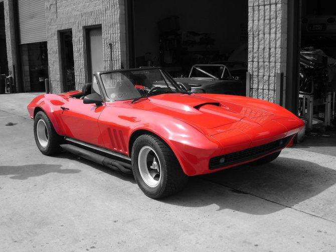 "Classic ""64"" Corvette in Kerney Mesa."