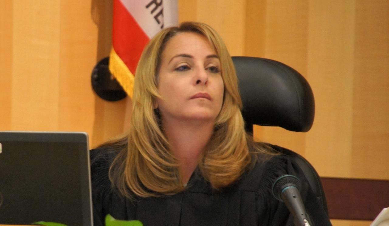 Judge Kimberlee Lagotta will pronounce sentence July 8, 2013.  Photo Weatherston.