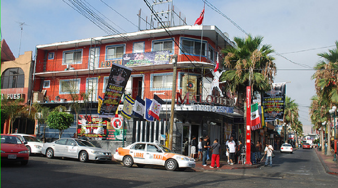 Malquerida nightclub in Tijuana's Zona Norte