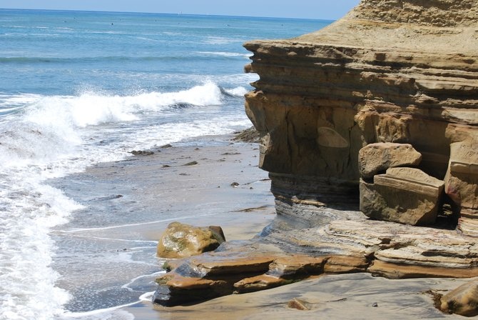 The beauty of Sunset Cliffs, right below Point Loma Nazarene University.