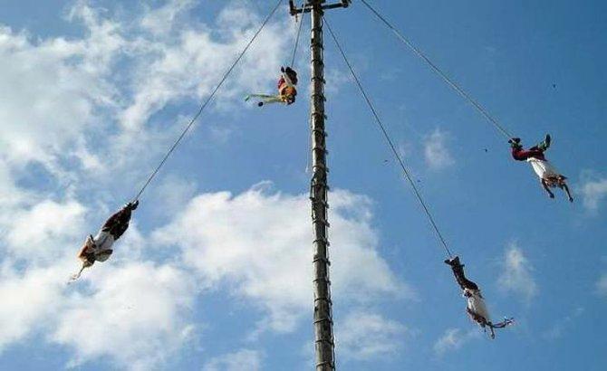 Voladores of Cuetzalan
