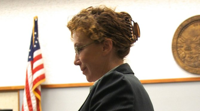 Aggressive defense by atty Karolyn Kovtun has limited witnesses' opinions. Photo Weatherston.