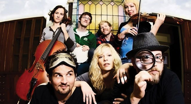 Baroque-pop big band Cloud Cult will crowd the stage at Porter's Pub at UCSD.
