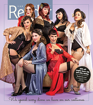 7af2085b2c5cb San Diego burlesque dancers spend every dime on costumes | San Diego ...