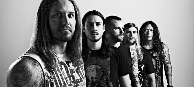 Timothy Lambesis is said to be lead singer of the band As I Lay Dying.  Website photo.