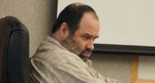 Sanity trial for Adam Brown has been delayed again.  Photo Bob Weatherston.