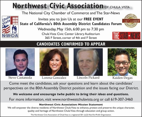 80th Assembly District Candidate Forum