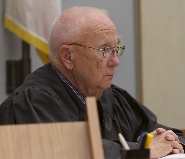 Judge Martin Staven set bail at $3 million.  Photo Bill Wechter, court pool.