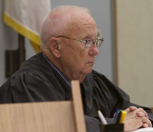 Judge Martin Staven set bail at $3 million.  Photo Bill Wechter, court pool.