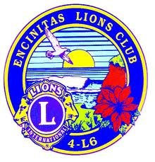 The Encinitas Lions serve our neighborhood!