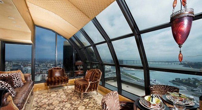 """""""The epitome of penthouse living."""""""