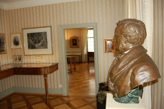 Inside the Richard Wagner Museum, which is celebrating the composer's 200th birthday.