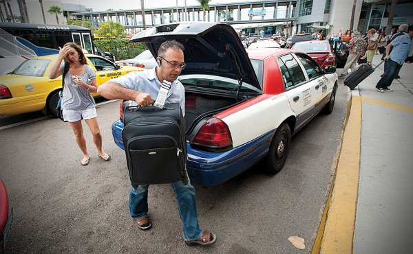 Industry rumors suggest that permits to operate taxis at the airport have been sold for as much as $160,000.