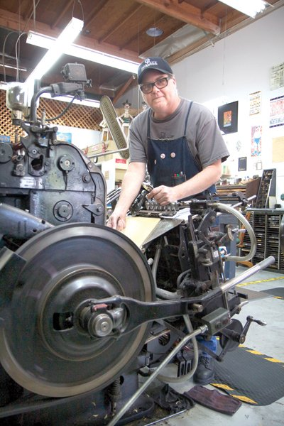 Tim Butler's newest machine is 60 years old.