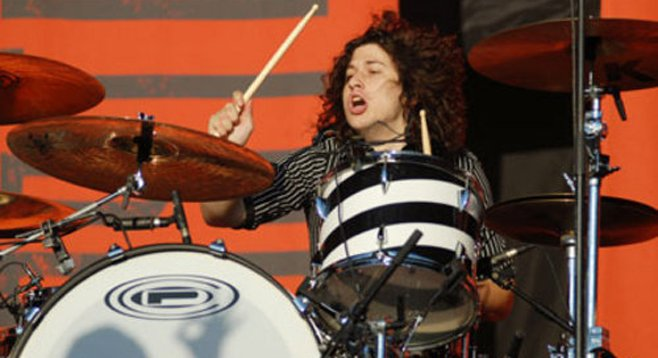 "Ilan Rubin won a worldwide competition when he was 12 years old — ""Best Undiscovered Drummer Under 18."""
