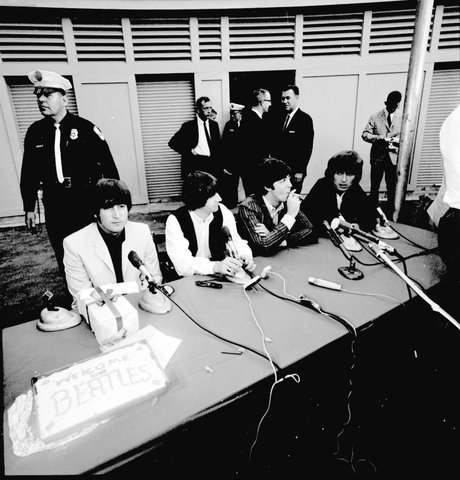 Beatles press conference in San Diego